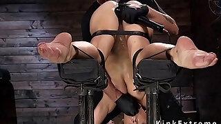 busty milf in servitude rails sybian