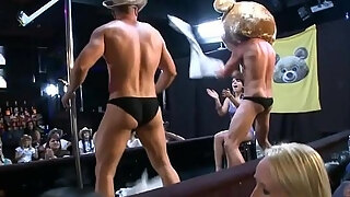 hawt strippers receive their sexy jocks absorbed