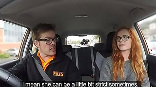 threesome drill after faux driving test