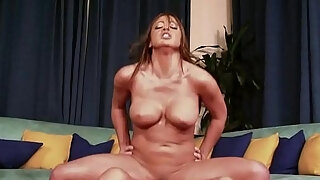 busty milf acquires a weenie inwards of her