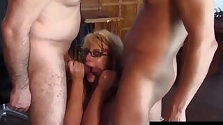 milf crystal law receives anal invasion stuffing
