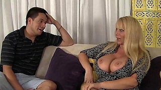 voluptuous milf has sex with step son