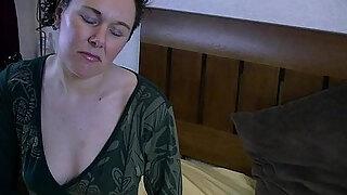 horny furry milf reads book for masturbation fantasies