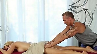 hot golden haired alix lynx receive her large plug scones touch precious and slow