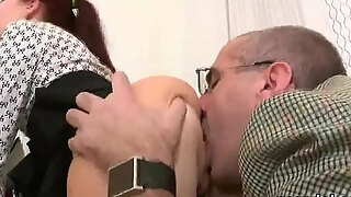 nice smell acquires taunted and shoved by her mature professor