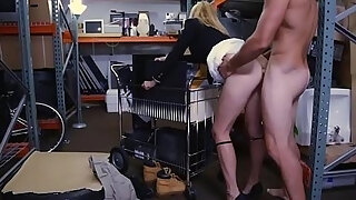 hot golden haired milf beat by pawn keeper