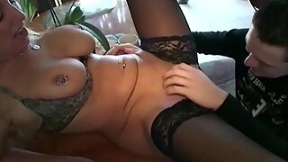 german milf seduce 18yr aged son from neighbour to fuck