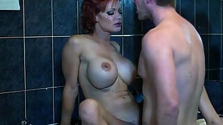 busty milf loukou acquires doggystyled
