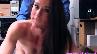 naughty cougar sofie receives deeply stuffed by masochistic officers large ramrod