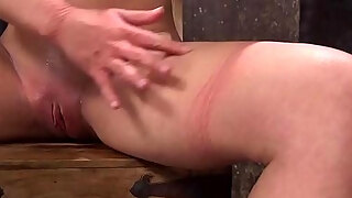 big love muffins milf receives hog tied in basement