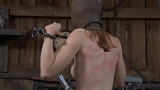 enjoyable hottie is made to energetic anal invasion output during torment