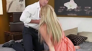 mom stunning golden haired milf with astounding assets suction and bonks boys rigidly rod