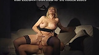 super hawt milf has a romantic evening with champagne and pleasant anal invasion