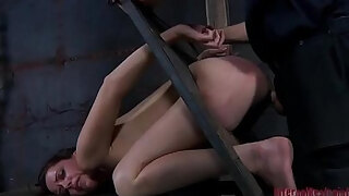 tough girl in fetters receives her ribald cleft stuffed