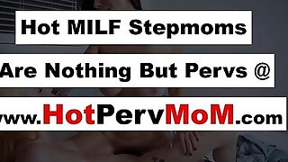 milf stepmother orders her stepdaughter to take up with the tongue her wazoo