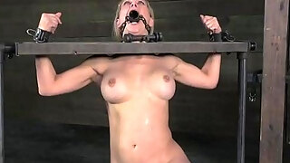 busty milf played during perverted servitude
