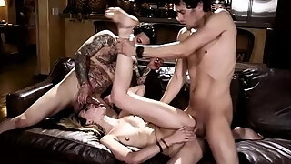 runaway legal age juvenileager receives drilled harshly by excited mature fellows