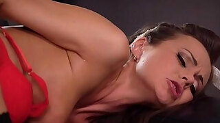 mom brunette milf tina kay carnal fellatio and switch roles cowgirl