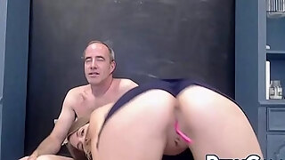 sexy blonde milf camgirl masturbation with hubby