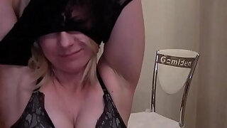 mature honey does a greedily striptease spectacle
