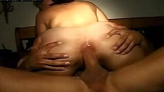 non professional pair buttfuck banging