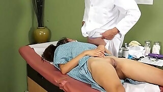 gyno girl fucked by doctor in medical clinic