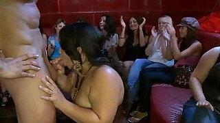 26 slutty beauties engulfing knob at intercourse party13