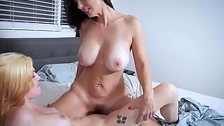 angry breasty milf stepmom penalized her stepdaughter legal age youngager