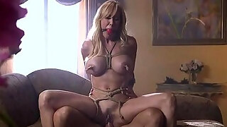 milf pleasure tying up large breasts milf and bonks