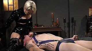 blonde milf headmistress bitch rectal copulates her accomplices