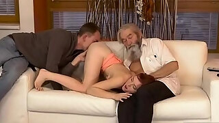 daddy likes to unexpected experience with an mature gent