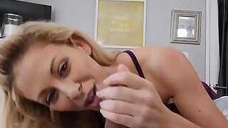 milf large breasts oral stimulation glasses cherie deville in impregnated by my