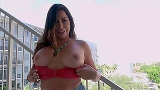 fat a hole and large bra buddies lalin girl milf acquires pumped in public