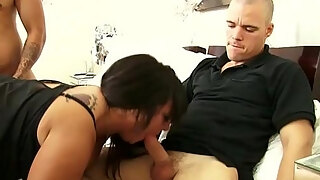 mature mom cassidy exe enjoys two young hard cocks