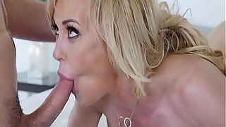 puremature milf twat stuffed by large dong with brandi love