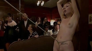 hot nice looking playgirl a hole pumped and predominated in slavery