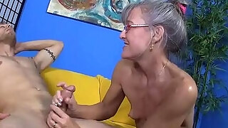 young guy caught red handed jacking off