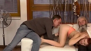 deep soaked oral sex unexpected practice with an mature gent