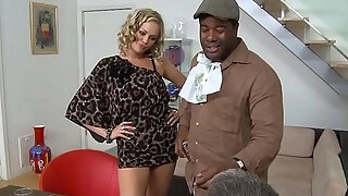 busty milf railing big black cock in violent act