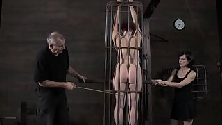 lusty and ultra kinky harlots are fucked inwards a diminutive cell