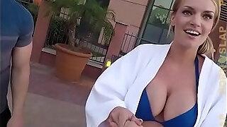 pornslap big tit milf rachael cavalli picked up while friend films