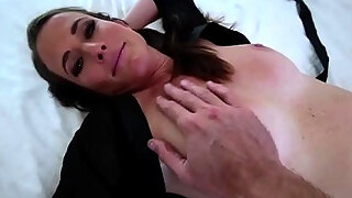 horny milf stepmom luving in a stepsons mobility grope