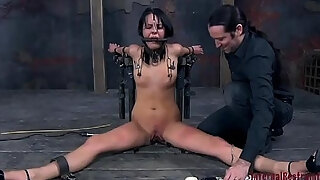 chained hotty desires xxx tormenting for her impure cleft